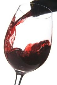 moderate amounts of red wine are good for stroke prevention