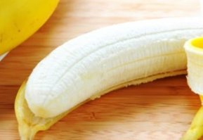 peeled banana