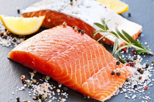 Fatty fish like salmon is essential for health