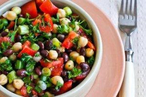 aduki beans salad