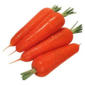 carrots are rich in fibre and beta carotene