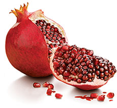 both fresh pomegranate and the juice are very good at relieving diarrhea