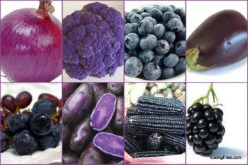 anthocyanin-rich foods