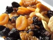 dried fruit can relieve constipation