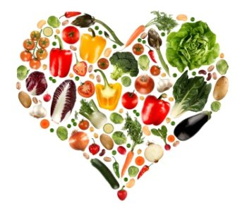 fruits and vegetables are good for the heart