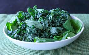 kale and spinach are rich in lutein