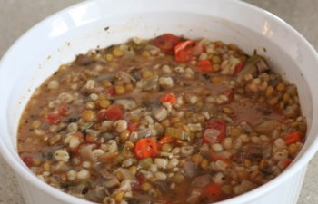 lentil and barley soup