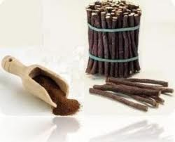 licorice root and powder
