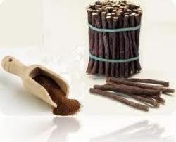 licorice root and powder