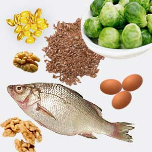 omega-3's are found in many foods