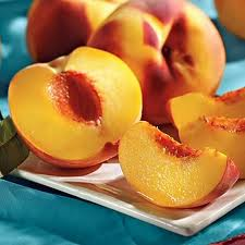 yellow peaches also contain lots of lutein and zeaxanthin