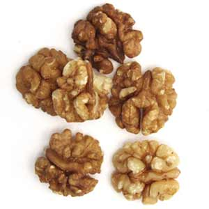 Buy organic walnuts from Goodness Direct