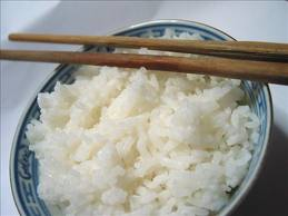 white rice for diarrhea