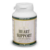 Buy Heart Support caps from Cytoplan