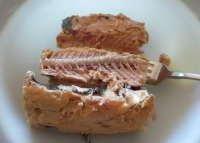 canned salmon with bones