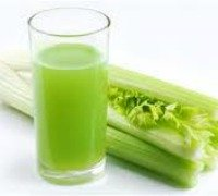celery stalk and celery juice