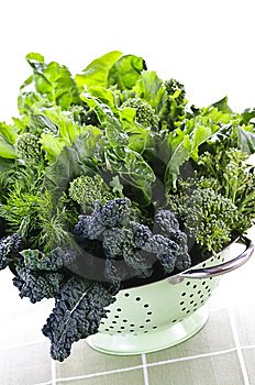 green leafy vegetables are an excellent source of magnesium