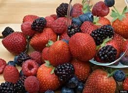 berries are full of fiber and excellent to prevent constipation
