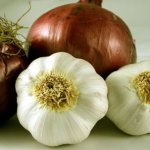 onions and garlic for heart disease