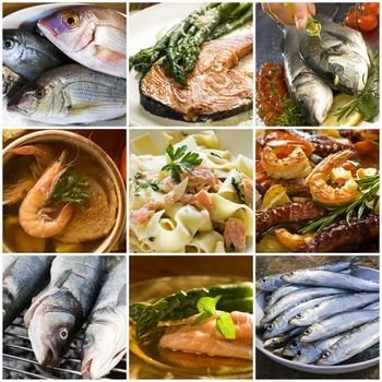 different types of fatty fish