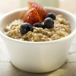 whole grain cereal - porridge