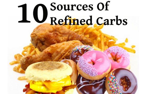 sources of refined carbohydrates