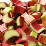 rhubarb stalks can ease constipation