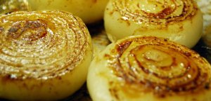 roasted onions are delicious
